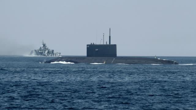 military naval exercises submarine - submarine stock videos & royalty-free footage