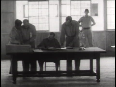 military officers sign an armed truce to end the korean war in 1953. - armistice stock videos & royalty-free footage