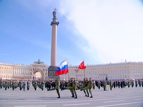 military parade. - military parade stock videos and b-roll footage