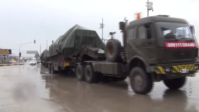 Military reinforcements arrived at the Syrian border in Turkey's southern Hatay province on January 17 including tanks according to reports from the...