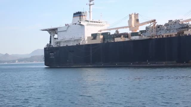 military sealift command load all equipment that was previously offloaded to support exercise balikatan 2018 onto usns jack lummus at subic bay... - military exercise stock videos and b-roll footage