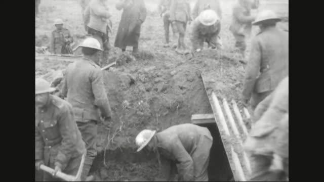 military soldiers building trench wave from trench - trench stock videos & royalty-free footage
