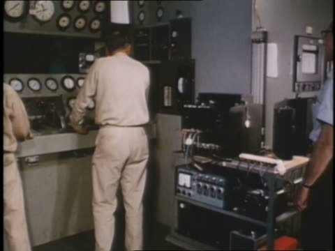 military technicians operate a control panel for an experimental military weapon. - instrument of measurement stock videos & royalty-free footage