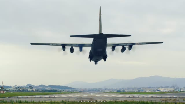 military transport flying over head - air force stock videos & royalty-free footage