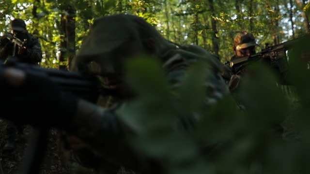 military war on extreme terrain - stealth stock videos and b-roll footage