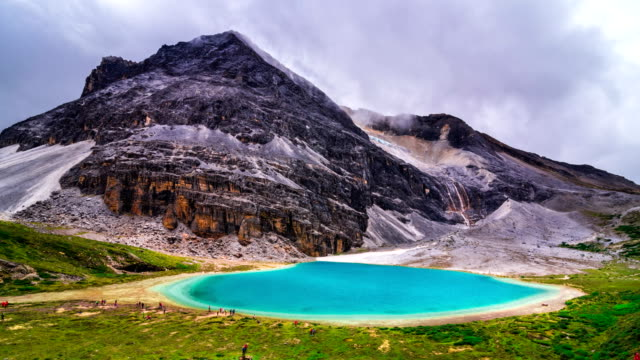 Milk Lake in Yading national level reserve