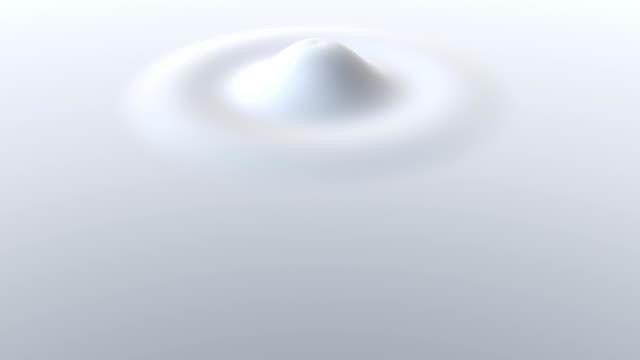 Milky Drip 3D CGI