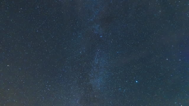 milky way and stars - night time lapse - meteor shower stock videos and b-roll footage