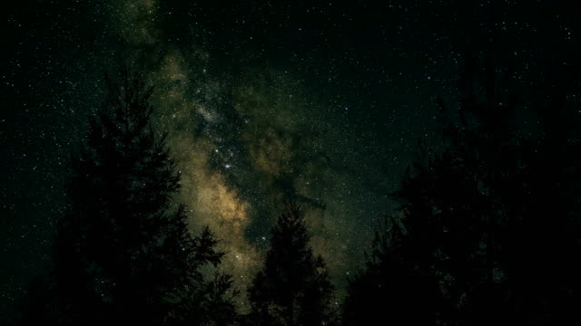 milky way at night - star field stock videos & royalty-free footage