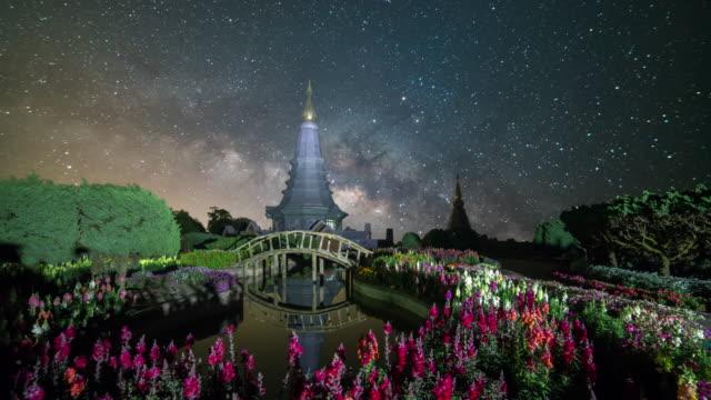 Milky way galaxy at Doi inthanon Chiang mai Thailand