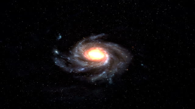 milky way galaxy space - galaxy stock videos & royalty-free footage