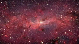 Milky Way Galaxy (Moving Into the Center)