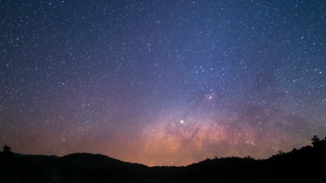 milky way galaxy - nature reserve stock videos & royalty-free footage