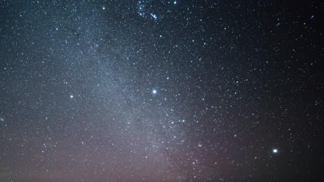 milchstraße galaxy  - galaxie stock-videos und b-roll-filmmaterial