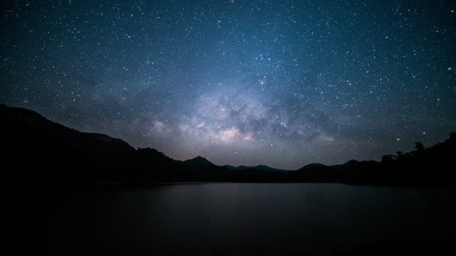 milky way galaxy - star field stock videos & royalty-free footage