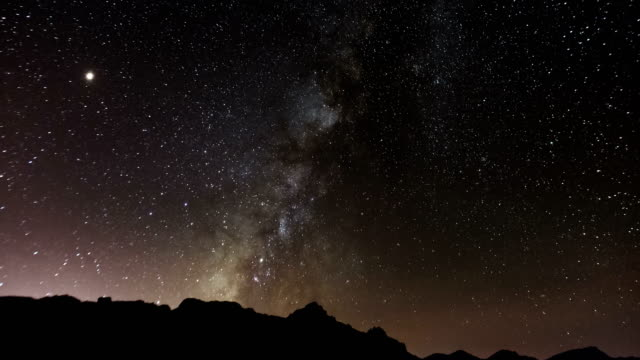 milky way time lapse - star field stock videos & royalty-free footage
