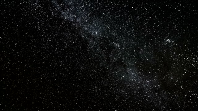 milky way time lapse - spazio cosmico video stock e b–roll