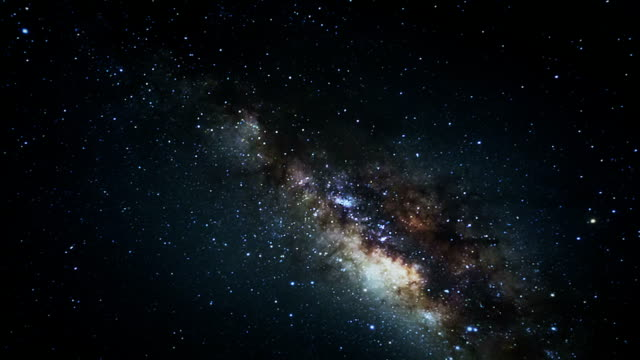 Milky Way ,Time lapse