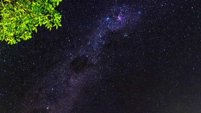 Milky Way timelapse at Byron Bay, Australia in 4K