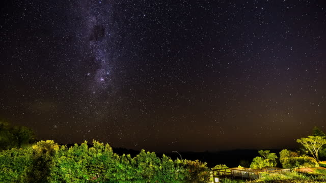 Milky Way timelapse at Lamington National Park, Queensland, Australia 2
