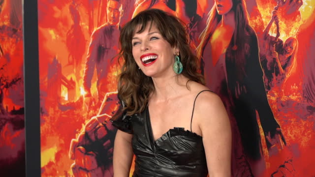 Milla Jovovich at 'Hellboy' New York Special Screening at AMC Lincoln Square Theater on April 09 2019 in New York City