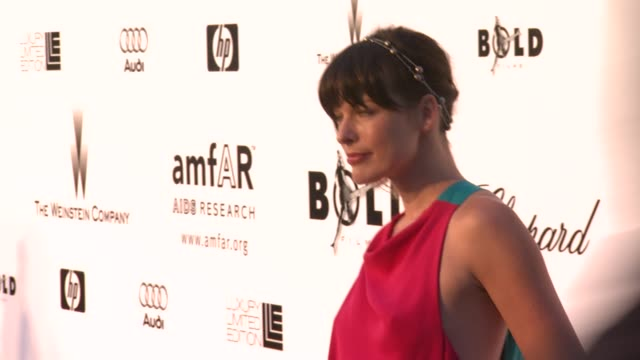 Milla Jovovich at the Cannes amfAR's Cinema Against AIDS 2008 arrivals in Cannes on May 22 2008