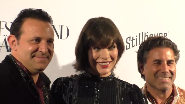 milla jovovich at the opening of what goes around comes around in beverly hills - milla jovovich stock videos and b-roll footage