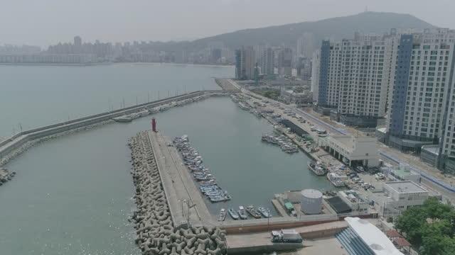 millakhang port / busan, south korea - anchored stock videos & royalty-free footage