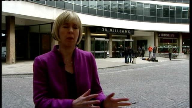 vidéos et rushes de sue jameson live from conservative party headquarters - parti conservateur anglais