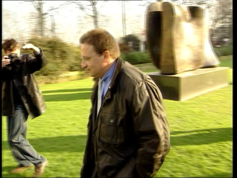 vídeos de stock, filmes e b-roll de legacy; millenium dome sale: legacy; itn int lord falconer interview sot - they met a number of them but hadn't got to the point that was set out in... - moving past