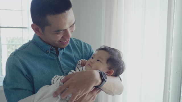 millennial parents - father's day stock videos & royalty-free footage