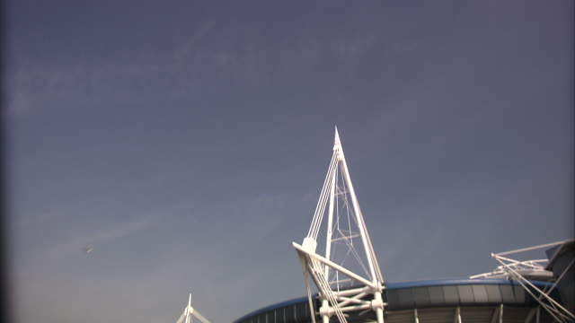 millennium stadium, cardiff - millennium stadium stock videos & royalty-free footage