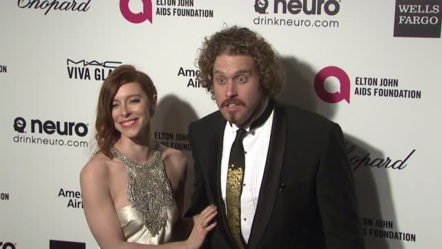 TJ Miller at the 23rd Annual Elton John AIDS Foundation Academy Awards Viewing Party Sponsored By Chopard Neuro Drinks And Wells Fargo on February 22...