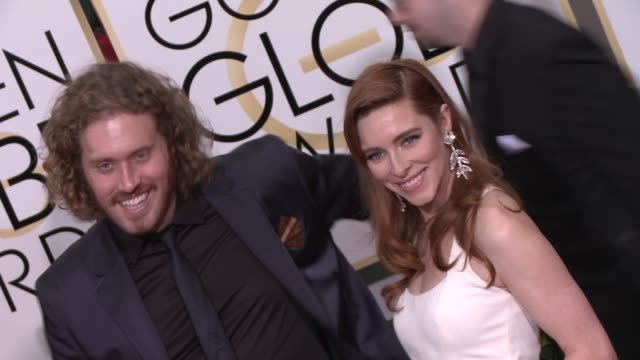 TJ Miller at the 72nd Annual Golden Globe Awards Arrivals at The Beverly Hilton Hotel on January 11 2015 in Beverly Hills California