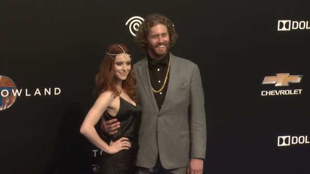 tj miller at the tomorrowland los angeles premiere at amc downtown disney 12 theater on may 09 2015 in anaheim california - anaheim california stock videos and b-roll footage