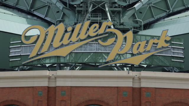 Miller Park, home of the Milwaukee Brewers, before a game
