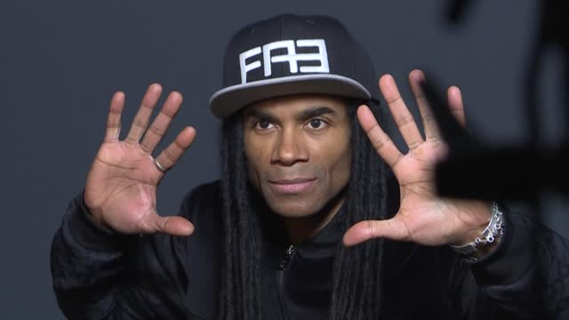 milli vanilli, a german-french r&b duo who wowed fans with their silky moves and cornrow hair extensions, were big stars at the end of the 1980s and... - braided hair stock videos & royalty-free footage