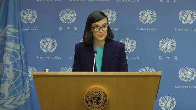 speech millie bobby brown on her new role at unicef appoints emmynominated actress millie bobby brown as its youngestever goodwill ambassador on... - unicef stock videos & royalty-free footage