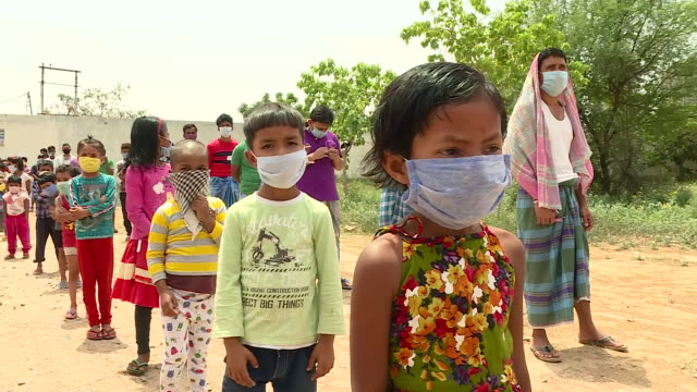 millions of indians who have been without work for weeks are facing hunger as the country battles the coronavirus outbreak.our reporter neville... - hungry stock videos & royalty-free footage