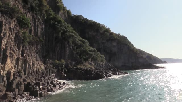 millions of years old rare basalt columns in northern turkey is among the most popular tourist destinations of the culturallyrich country since it... - under her feet stock videos & royalty-free footage