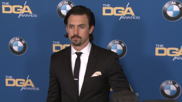 milo ventimiglia at 69th annual directors guild of america awards in los angeles ca - directors guild of america awards stock videos & royalty-free footage