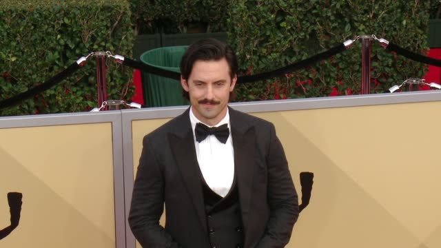 Milo Ventimiglia at the 24th Annual Screen Actors Guild Awards at The Shrine Auditorium on January 21 2018 in Los Angeles California