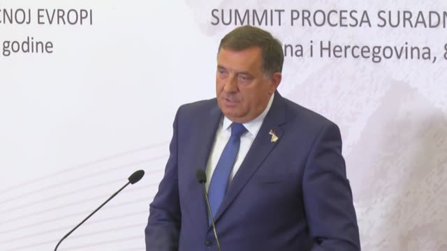 stockvideo's en b-roll-footage met milorad dodik the head of bosnia and herzegovina's presidency on tuesday said that ankara has requested it to extradite suspected members of feto the... - staatsgreep