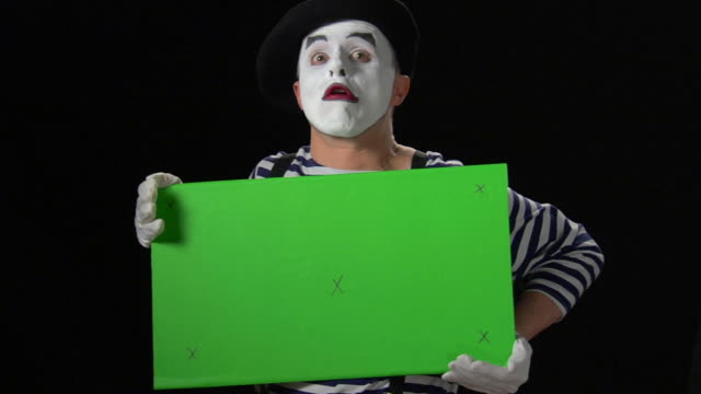 Mime Green Card 6 - medium with Tracking Points