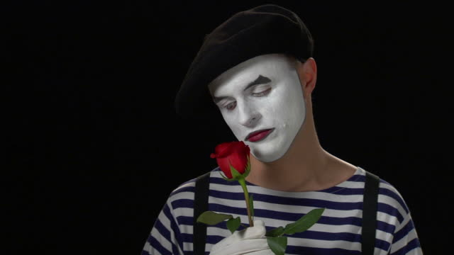 mime heartbreak 5 - mime stock videos & royalty-free footage