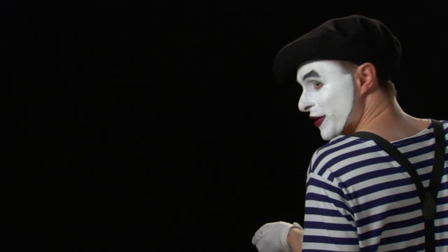 mime rope pull 1 - pantomime stock videos and b-roll footage