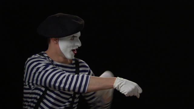 mime rope - yank out - pantomime stock videos and b-roll footage