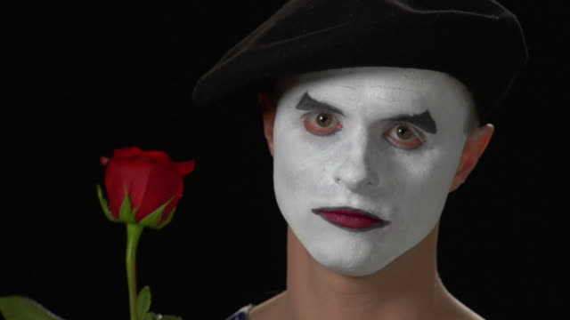 mime rose sprout - mime artist stock videos & royalty-free footage