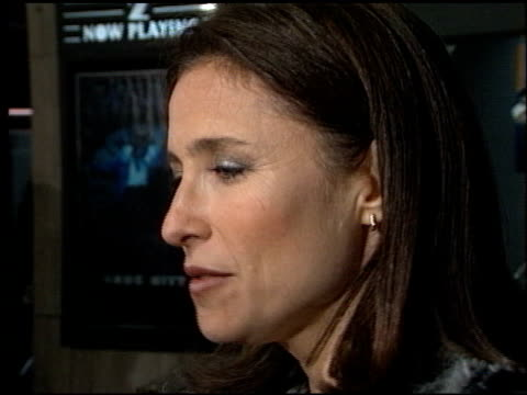 mimi rogers at the 'dark city' premiere at cineplex odeon century plaza in century city, california on february 25, 1998. - odeon cinemas点の映像素材/bロール