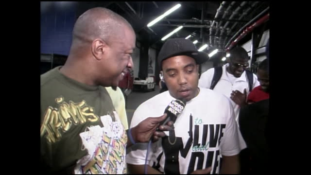 mims interview with junior reid and baby cham at summer jam 2007 - レゲエ点の映像素材/bロール